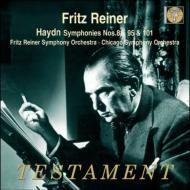 交響曲第88番『V字』、第95番、第101番『時計』 フリッツ・ライナー、シカゴ交響楽団、ヒズ・シンフォニー・オーケストラ