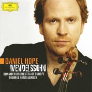 ヴァイオリン協奏曲(初稿版)、八重奏曲 ホープ(ヴァイオリン)ヘンゲルブロック&ヨーロッパ室内管弦楽団