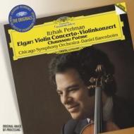 ヴァイオリン協奏曲、他 パールマン(ヴァイオリン)バレンボイム&シカゴ交響楽団、他