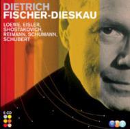 フィッシャ=ディースカウ/ワーナー録音集(シューベルト、レーヴェ、ショスタコーヴィチ、他) ヘル、ライマン(ピアノ)(6CD)