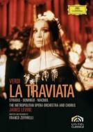 歌劇『椿姫』全曲 ゼッフィレッリ監督、レヴァイン&メトロポリタン歌劇場管、ストラータス、ドミンゴ