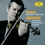 ヴァイオリン協奏曲、クロイツェル・ソナタ レーピン、ムーティ&ウィーン・フィル、アルゲリッチ(2CD)