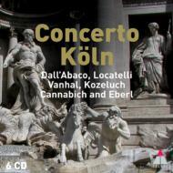 オムニバス(管弦楽)/Concerto Koln: Dall'abaco Locatelli Vanhal Kozeluch Eberl Etc