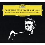 交響曲第8番『未完成』、第9番『グレイト』 カラヤン&ベルリン・フィル