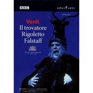 『ファルスタッフ』ハイティンク指揮、『トロヴァトーレ』リッツィ指揮、『リゴレット』ダウンズ指揮、コヴェント・ガーデン王立歌劇場(3DVD)