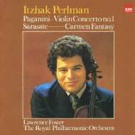 ヴァイオリン協奏曲第1番、他 パールマン、フォスター&ロイヤル・フィル