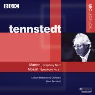 マーラー:交響曲第7番『夜の歌』、モーツァルト:同第41番『ジュピター』 テンシュテット&LPO(ステレオ)(2CD)
