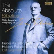 ヴァイオリン協奏曲、交響曲第2番 クーシスト、セーゲルスタム&ヘルシンキ・フィル