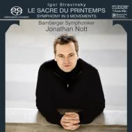 『春の祭典』、3楽章の交響曲 ノット&バンベルク交響楽団