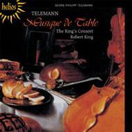 Tafelmusik-orch.suites: R.king / King's Consort