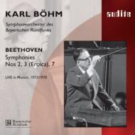 交響曲第3番『英雄』、第2番、第7番 べーム&バイエルン放送響(2CD)