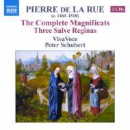 マニフィカト全集、3つのサルヴェ・レジーナ シュバート&ヴィヴァ・ヴォーチェ(2CD)