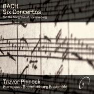 ブランデンブルク協奏曲(全6曲) ピノック&ヨーロピアン・ブランデンバーグ・アンサンブル(2CD)