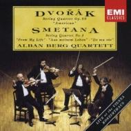 ドヴォルザーク:『アメリカ』、スメタナ:『わが生涯より』 アルバン・ベルク四重奏団