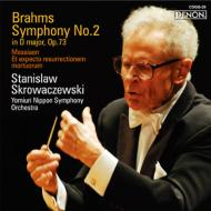 ブラームス:交響曲第2番、メシアン:われ死者の復活を待ち望む スクロヴァチェフスキ&読売日本交響楽団
