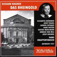 『ラインの黄金』全曲 クナッパーツブッシュ&バイロイト、ホッター、グリュンマー、他(1957 モノラル)(2CD)