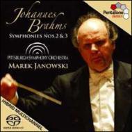 交響曲第2番、第3番 ヤノフスキ&ピッツバーグ交響楽団
