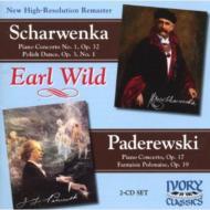 Piano Concerto: Earl Wild(P)A.fiedler / Lso +scharwenka: Concerto: Leinsdorf / Bso