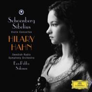 シベリウス:ヴァイオリン協奏曲、シェーンベルク:ヴァイオリン協奏曲 ハーン(vn)サロネン&スウェーデン放送響