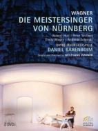 『ニュルンベルクのマイスタージンガー』全曲 W.ワーグナー演出、バレンボイム&バイロイト、ホル、他(1999 ステレオ)(2DVD)