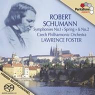 交響曲第1番『春』 、第2番 フォスター&チェコ・フィル