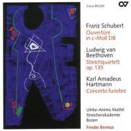 弦楽四重奏曲第16番(弦楽合奏版)、他 ベルニウス&ボーゼン弦楽アカデミー