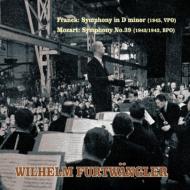 フランク:交響曲 フルトヴェングラー&ウィーン・フィル(1945)、モーツァルト:交響曲第39番 フルトヴェングラー&ベルリン・フィル(1942)