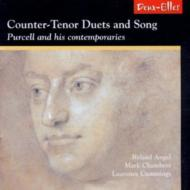 Counter-tenor Duets & Song By Purcell & His Contemporaries: R.angel M.chambers(Ct)Etc