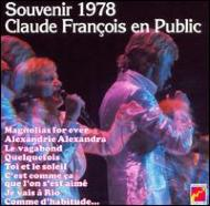 Souvenir 1978: Claude Francois En Public