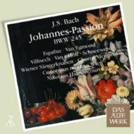 ヨハネ受難曲 アーノンクール&ウィーン・コンツェントゥス・ムジクス、エクウィルツ、エグモント(2CD)