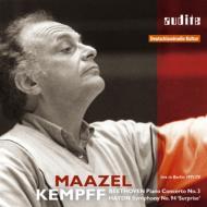 ベートーヴェン:ピアノ協奏曲第3番、ハイドン:驚愕 ケンプ(p)マゼール&ベルリン放送響