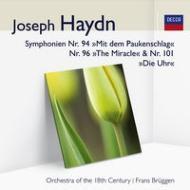 交響曲第94、96、101番 ブリュッヘン&18世紀オーケストラ