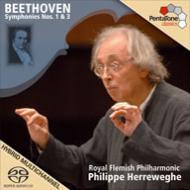 交響曲第1番、第3番『英雄』 ヘレヴェッヘ&ロイヤル・フランダース・フィル