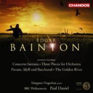 ベイントン:幻想的協奏曲、ゴールデン・リヴァー、パヴァーヌ フィンガーハット(p)P.ダニエル&BBCフィル