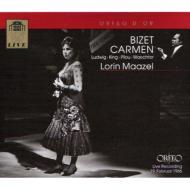 『カルメン』全曲 マゼール&ウィーン国立歌劇場、ルートヴィヒ、キング、ヴェヒター(2CD)