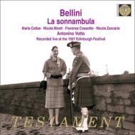 歌劇『夢遊病の女』全曲 アントニーノ・ヴォットー&スカラ座、マリア・カラス、ニコラ・モンティ、他(1957 モノラル エジンバラ・ライヴ)(2CD)