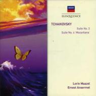 組曲第3番 マゼール&ウィーン・フィル、組曲第4番 アンセルメ&スイス・ロマンド管