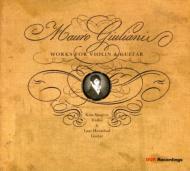 ヴァイオリンとギターのための作品集 シェーングレン(vn)、ハニバル(g)