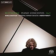ピアノ協奏曲第1番、第3番 ブラウティハム(p)パロット&ノールショピング響