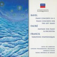 ピアノ協奏曲、左手のためのピアノ協奏曲 ラローチャ(p)フォスター&ロンドン・フィル