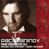 ピアノ協奏曲第1番、第3番 ダグラス(p)スヴェトラーノフ&ロシア国立交響楽団