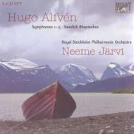 交響曲全集、スウェーデン狂詩曲集 ヤルヴィ&ストックホルム・フィル