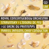 春の祭典、火の鳥 ヤンソンス&コンセルトヘボウ管弦楽団