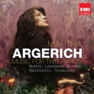 2台のピアノのための作品集 アルゲリッチ、モンテーロ、ジルベルシテイン、ブロンフマン、他