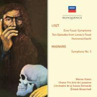 リスト:ファウスト交響曲、マニャール:交響曲第3番 アンセルメ&スイス・ロマンド管弦楽団