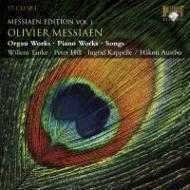 メシアン・エディション(オルガン曲、ピアノ曲、声楽曲全集) タンケ(org)ヒル(p)カペッレ(S)(17CD)
