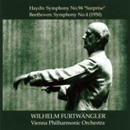 ベートーヴェン:交響曲第4番(1950年)、ハイドン:驚愕(1951年) フルトヴェングラー&ウィーン・フィル