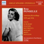 ポンセル/アメリカ録音集1939、...