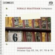 ピアノ独奏曲全集Vol.6(ソナタ第21−25番) ブラウティハム