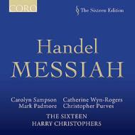 『メサイア』全曲 クリストファーズ&シックスティーン(3CD)